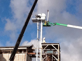 Elevator replacement at grain mill